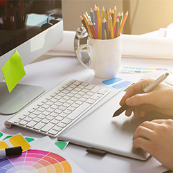 visual design agency - designing