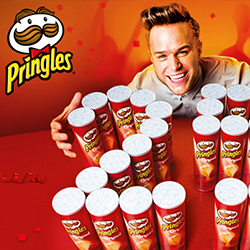 Video Production Services portfolio project - Pringles